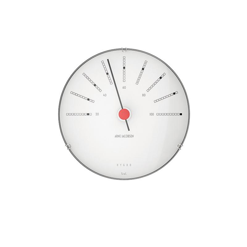Image of Arne Jacobsen Bankers Hygrometer, ø 12 cm