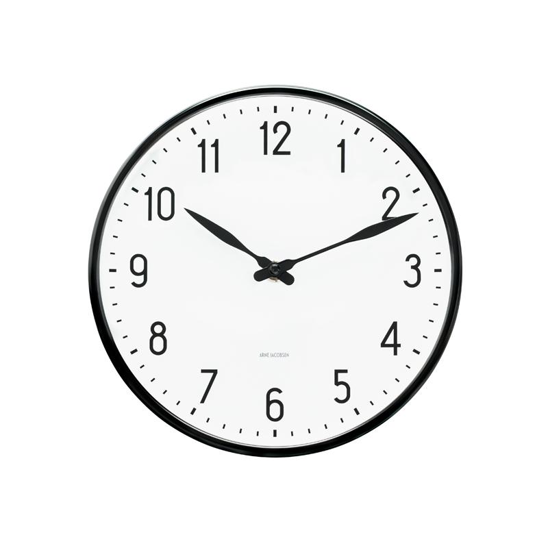 Arne Jacobsen Station vægur ø 16 cm