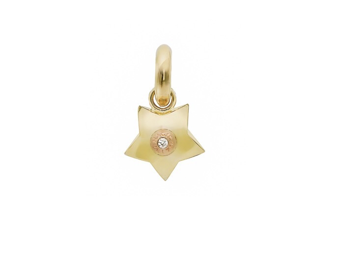 Ole Lynggaard Charm Magic Star 18 karat rødguld og rosaguld, 1 brill. 0,01 ct TW.VS (opluk) blank thumbnail