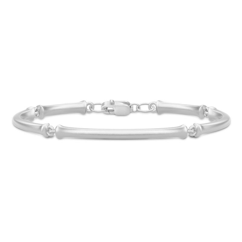 Julie Sandlau Noble Bamboo armbånd i sølv