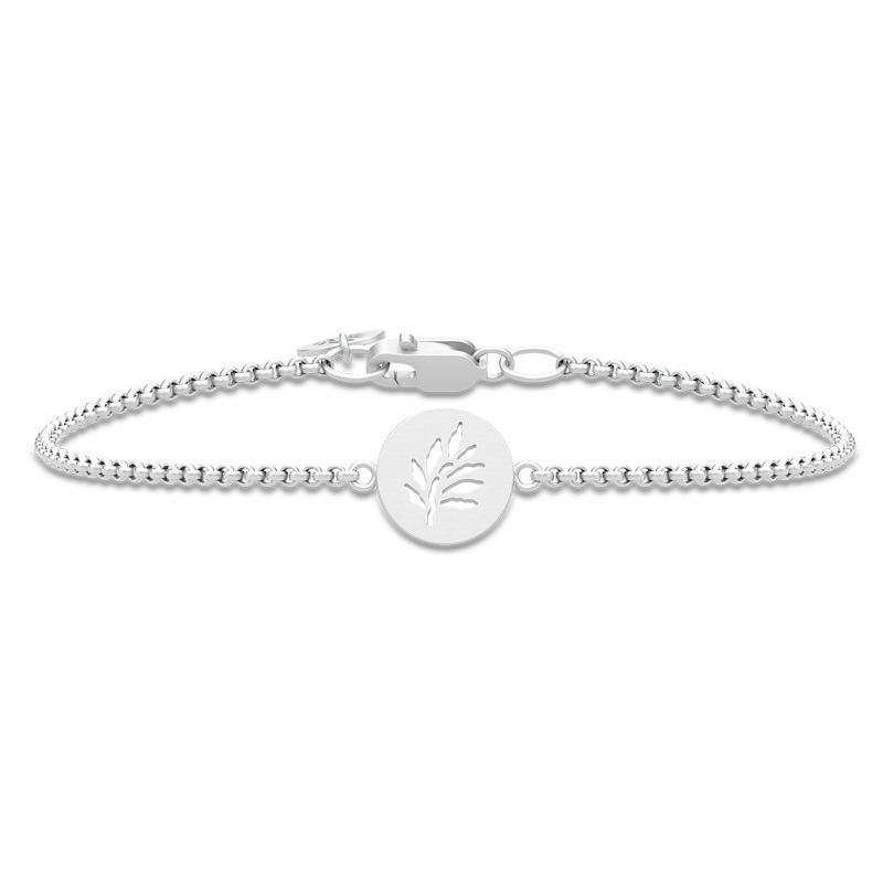 Image of   Julie Sandlau Classic armbånd i sølv