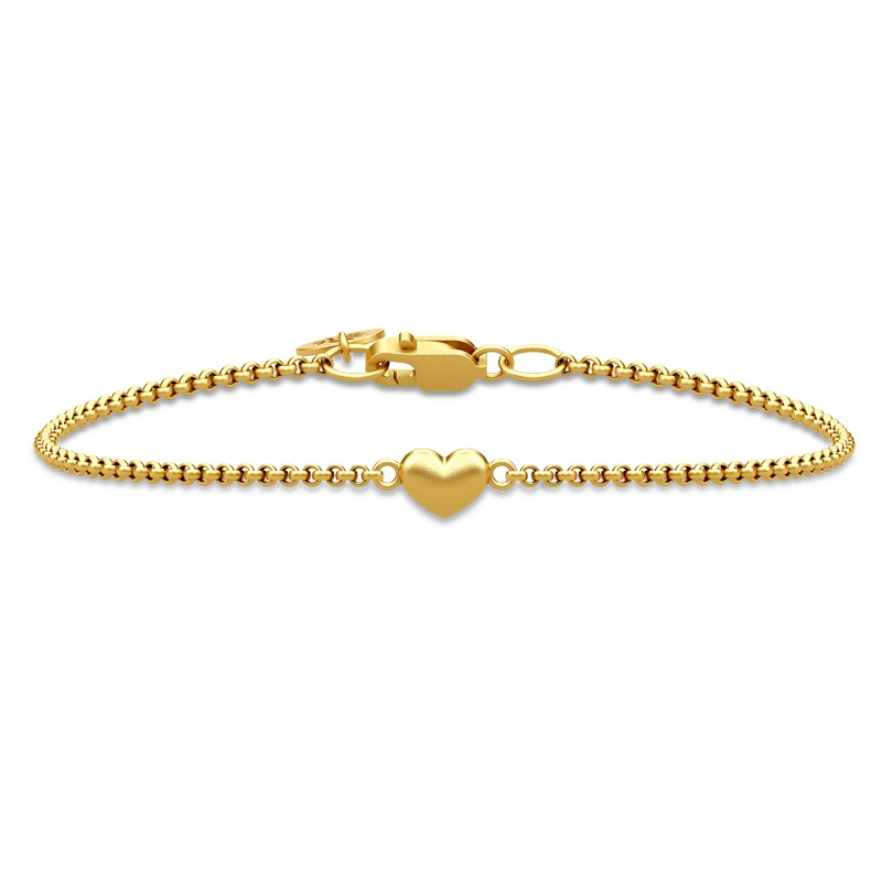 Image of   Julie Sandlau Classic, Love armbånd i forgyldt