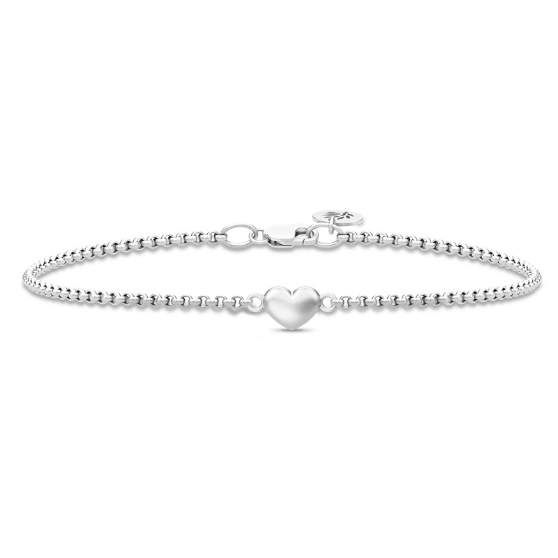 Image of   Julie Sandlau Classic, Love armbånd i sølv