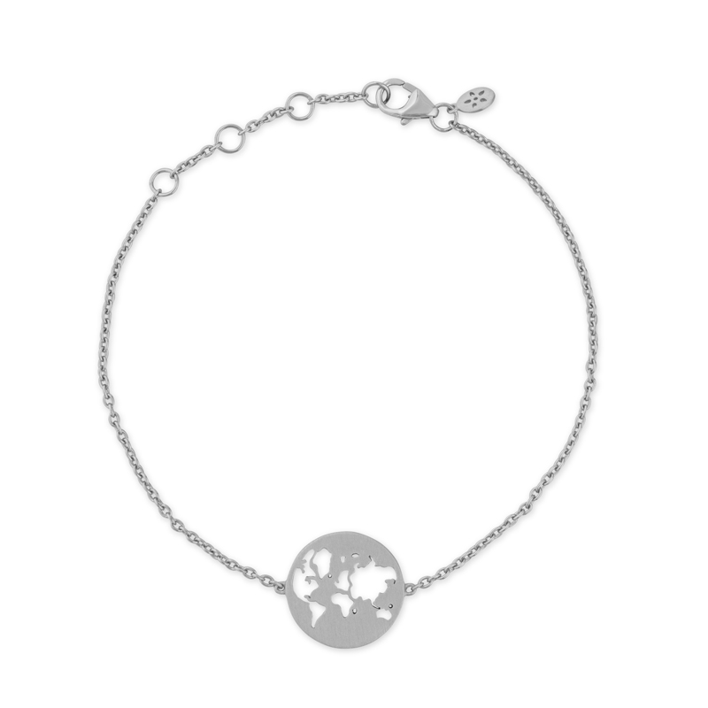 Image of   ByBiehl Beautiful World Armbånd - sølv