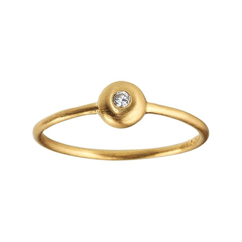 ByBiehl Iris ring Guld Diamant