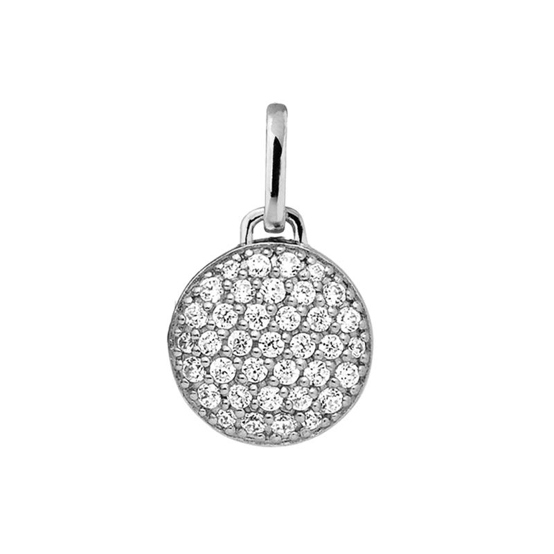 Image of   ByBiehl Love & Friendship Sparkle vedhæng, sølv med cz