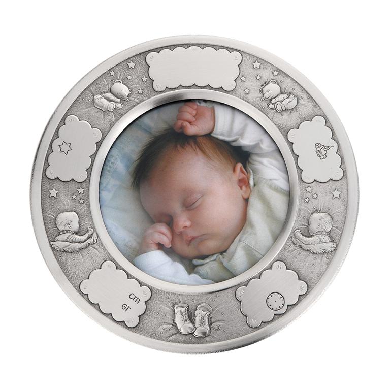Image of   Dåbsramme Baby, tin stor