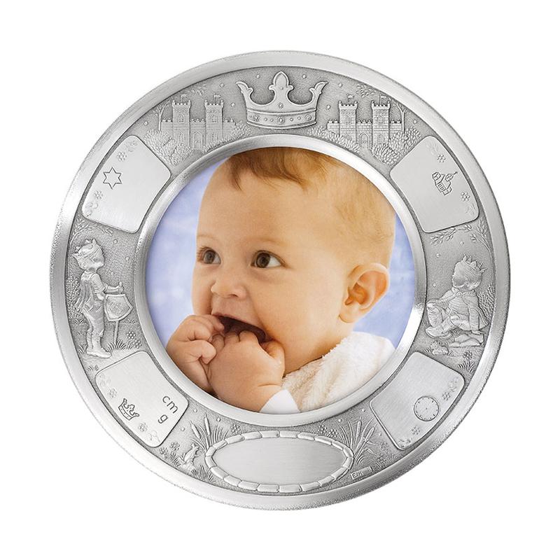 Image of   Dåbsramme Prins, tin stor