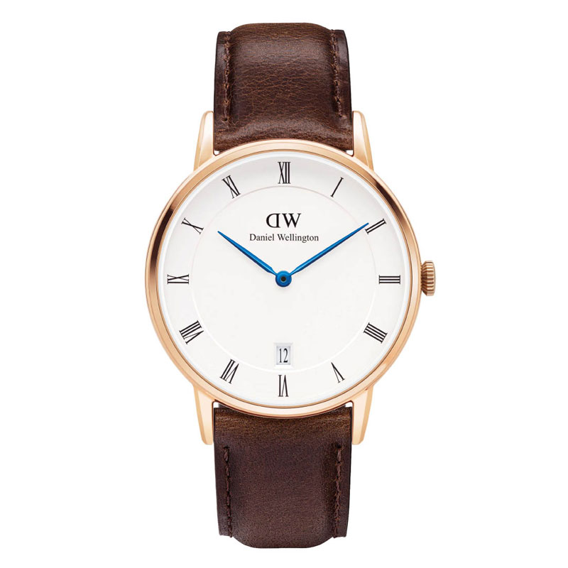 Image of   Daniel Wellington Dapper Bristol dameur - rosa 34 mm