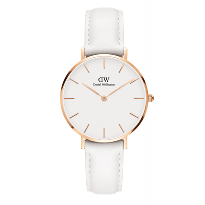 Image of   Daniel Wellington Classic Petite Bondi dameur rosa - 32 mm