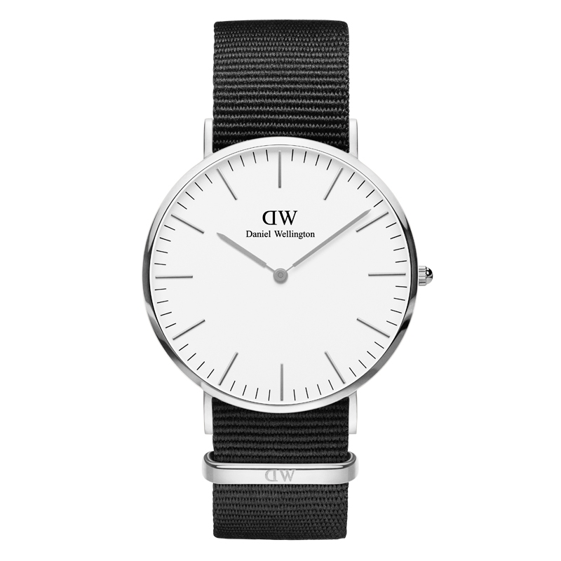Image of   DANIEL WELLINGTON CLASSIC CORNWALL UR STÅL 36 MM