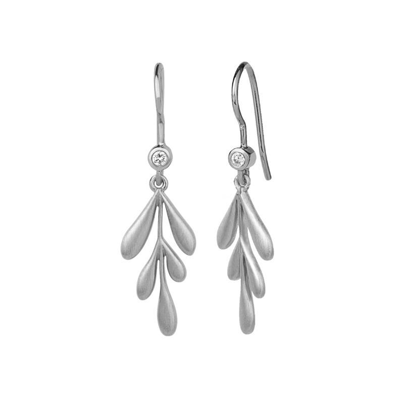 ByBiehl Forest øreringe i sølv
