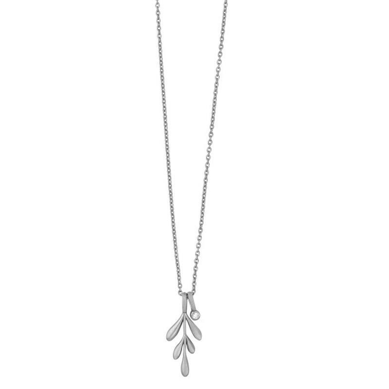 ByBiehl Forest halskæde i sølv