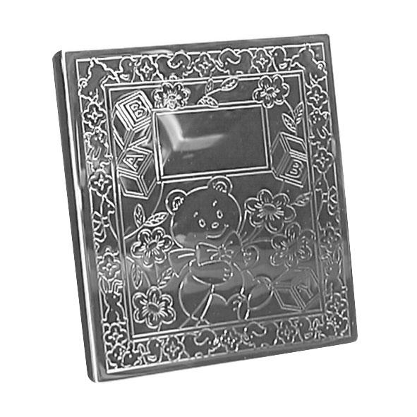 Image of   Fotoalbum Bamse, sølvplet