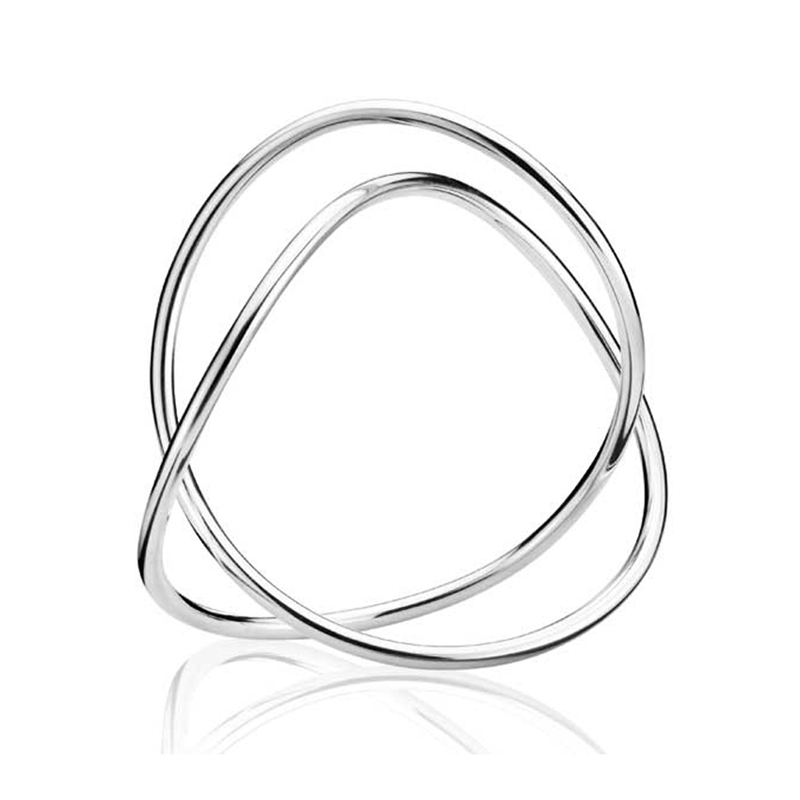Georg Jensen Alliance armring single 544A, sølv