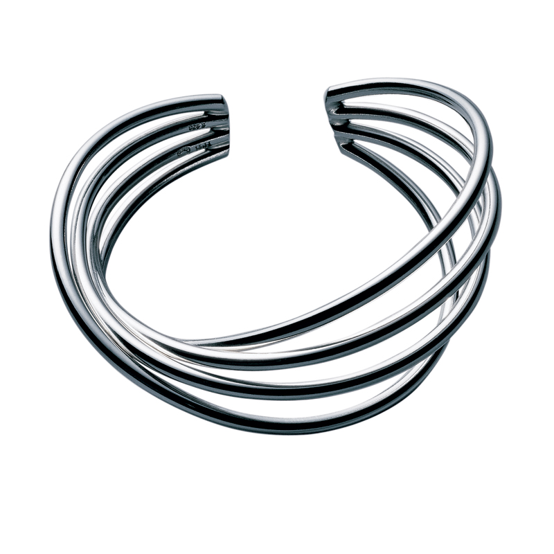 Georg Jensen Alliance armring, sølv