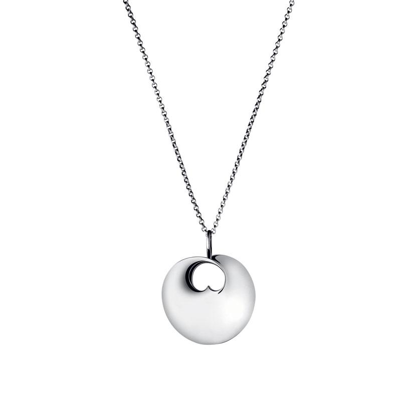 Image of   Georg Jensen Hidden Heart lille vedhæng i sølv