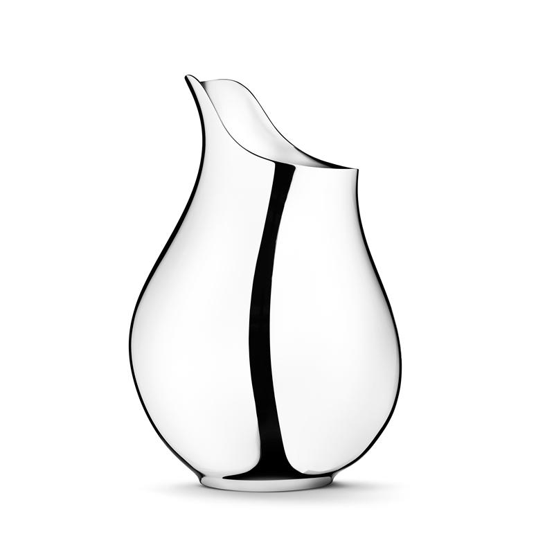 Georg Jensen Ilse Mama vase i stål