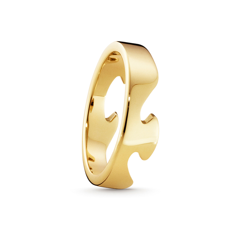 Image of   Georg Jensen Fusion endering 1367B, 18 kt. guld