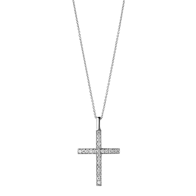 Diamond Cross & Heart