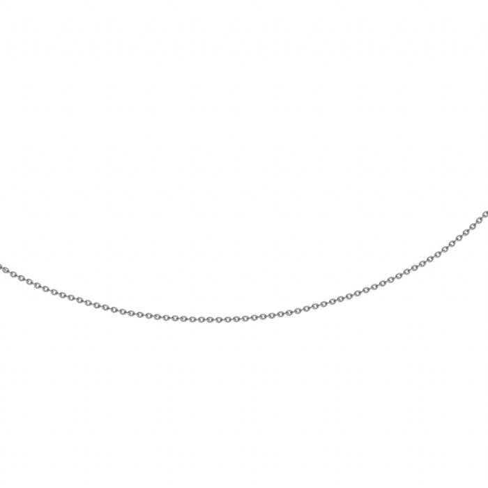 Image of   Halskæde Anker rund 0,6 mm, sølv fra 42 cm - 80 cm