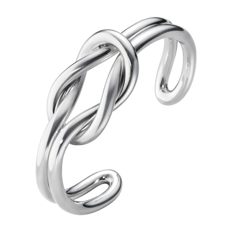 Georg Jensen Love Knot sølv armring, 627