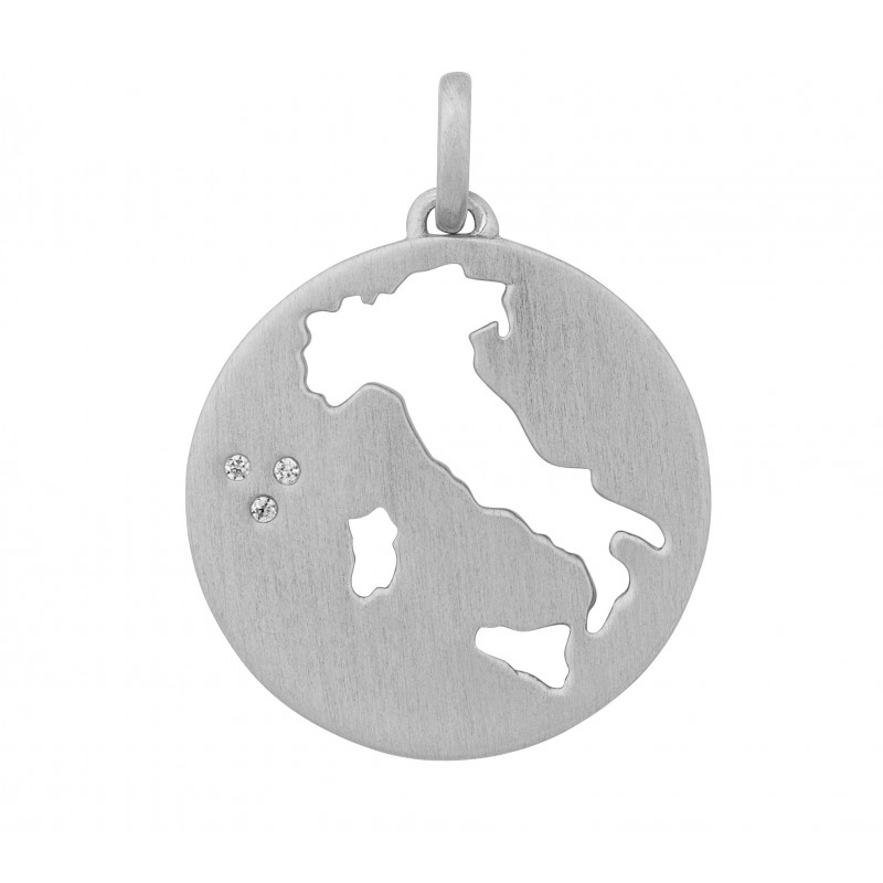 Image of   ByBiehl Beautiful Italien Vedhæng i sølv med CZ