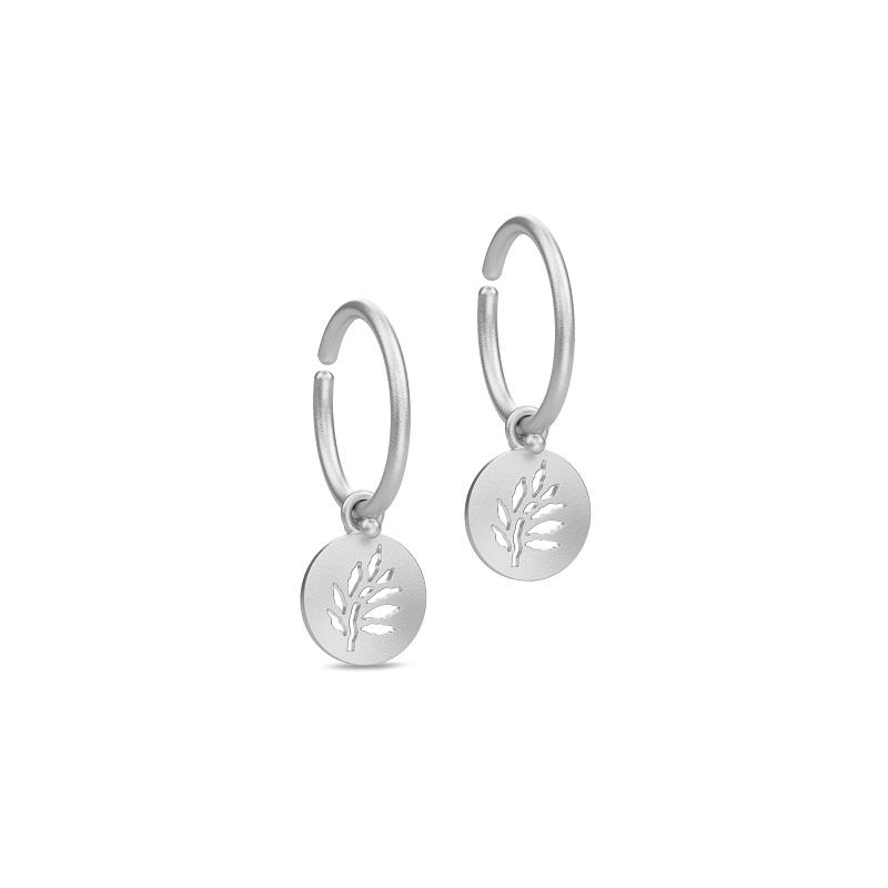 Image of   Julie Sandlau Signature Mini Hoops i sølv