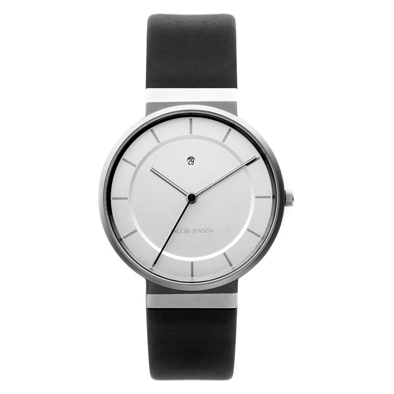 Image of   Jacob Jensen Dimensions armbåndsur i stål Ø38