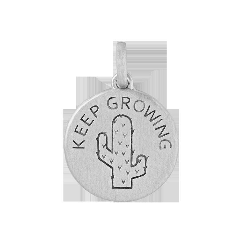 ByBiehl Keep Growing sølv vedhæng