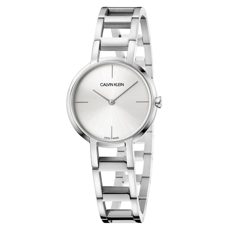 Image of   Calvin Klein Cheers armbåndsur i stål med sølv skive