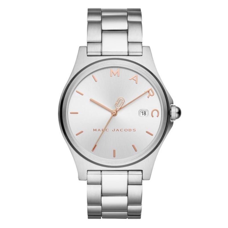 Marc Jacobs Henry armbåndsur i stål med lænke