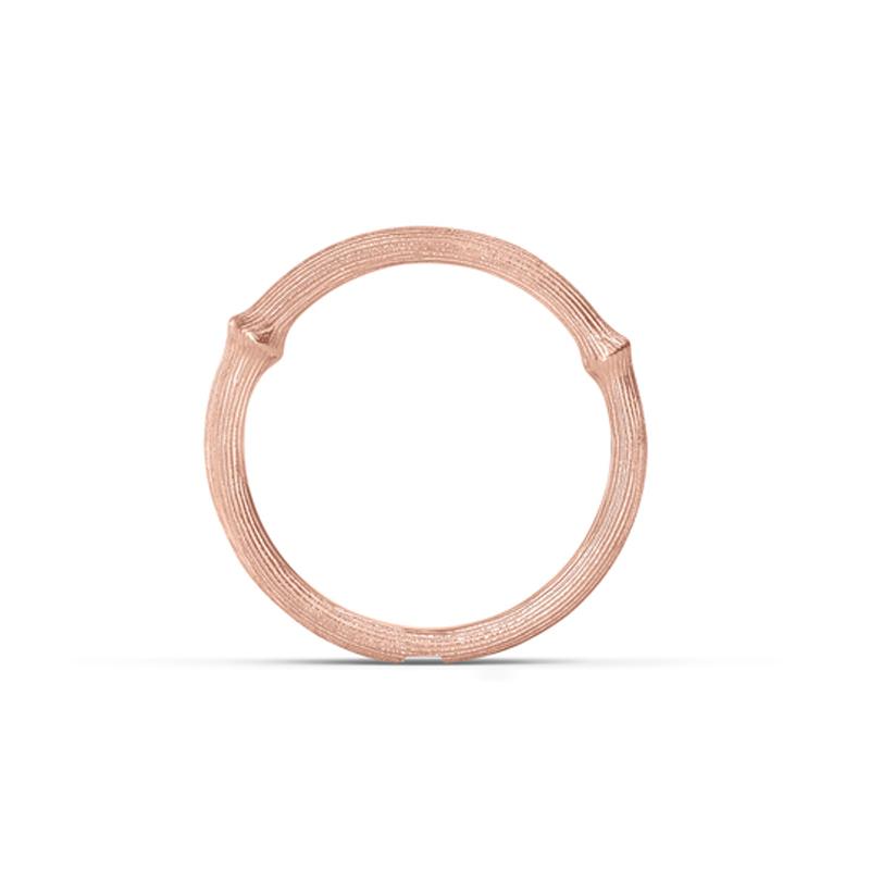 Image of   Ole Lynggaard Nature ring nr. 1 - 18 karat rosaguld