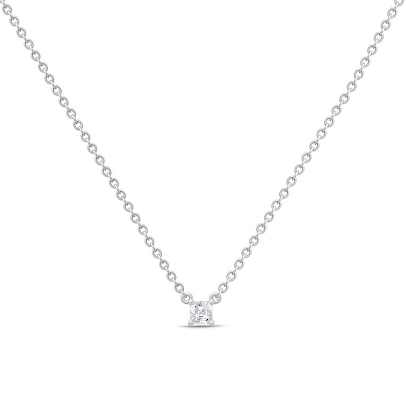 Julie Sandlau Imperial sølv halskæde med cubic zirkonia