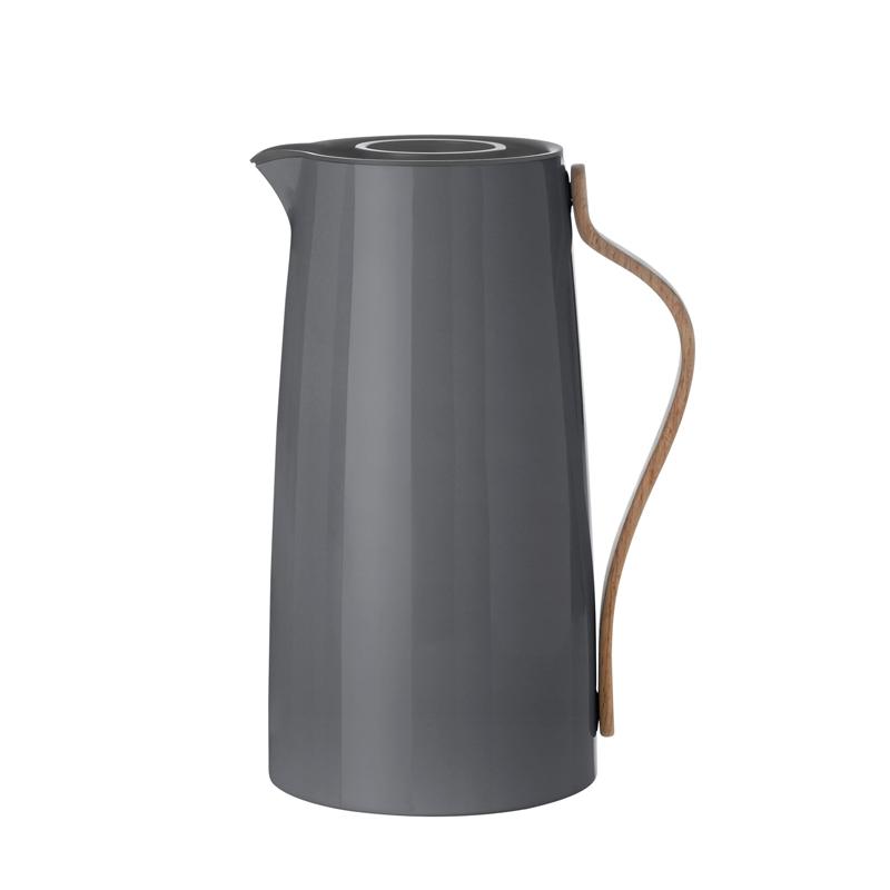 Image of   Stelton Emma Thermo Kaffekande, grå 1,2L