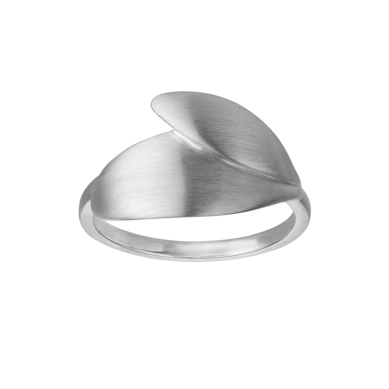 Image of   ByBiehl Olive sølv ring