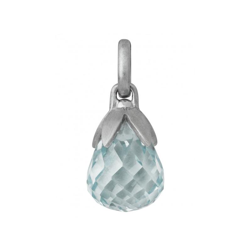 Image of   ByBiehl Prisma Blue Silver vedhæng i sølv