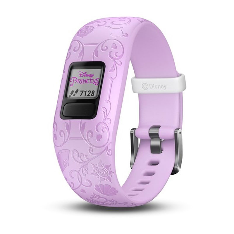 Image of   GARMIN Vivofit jr. 2 Disney Princess lilla børnearmbåndsur med aktivitetstracker