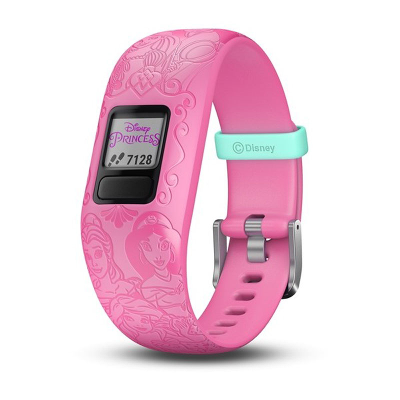 Image of   GARMIN Vivofit jr. 2 Disney Princess pink børnearmbåndsur med aktivitetstracker