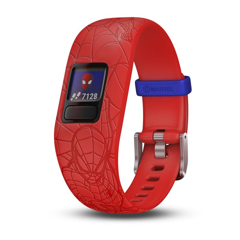 Image of   GARMIN Vivofit jr. 2 Spiderman rød børnearmbåndsur med aktivitetstracker