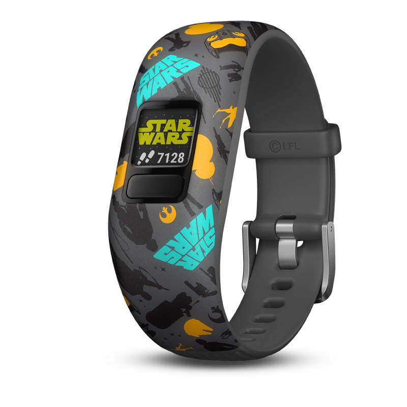 Image of   GARMIN Vivofit jr. 2 Star Wars The Resistance børnearmbåndsur med aktivitetstracker