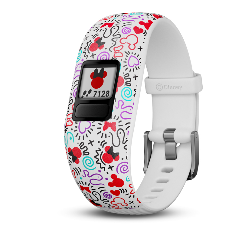 Image of   GARMIN Vivofit jr. 2 Minnie Mouse børnearmbåndsur med aktivitetstracker