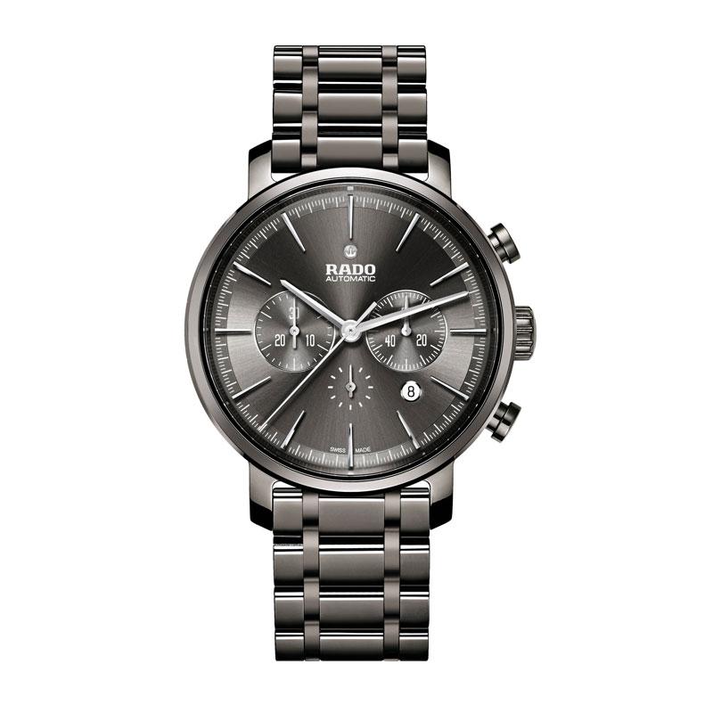 RADO Diamaster XXL herreur med chronograph og lænke - Automatic