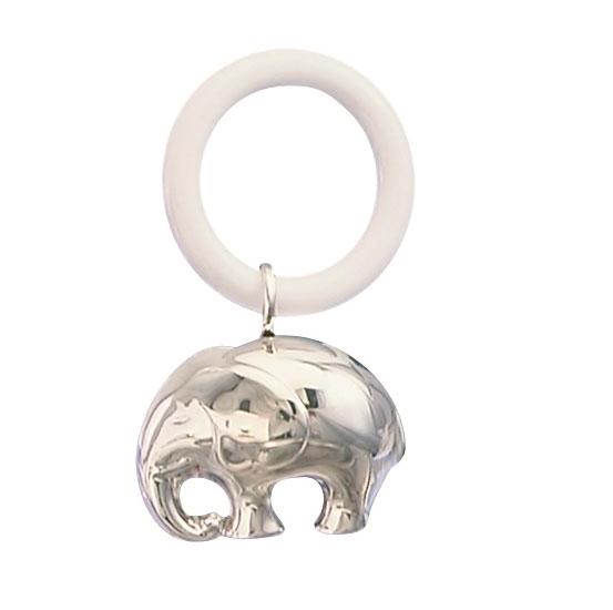 Billede af Nej, Rangle Elefant, sølvplet