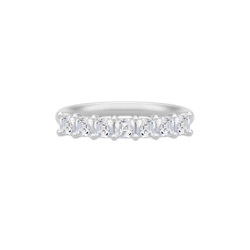 Julie Sandlau Empress sølv ring med cubic zirkonia