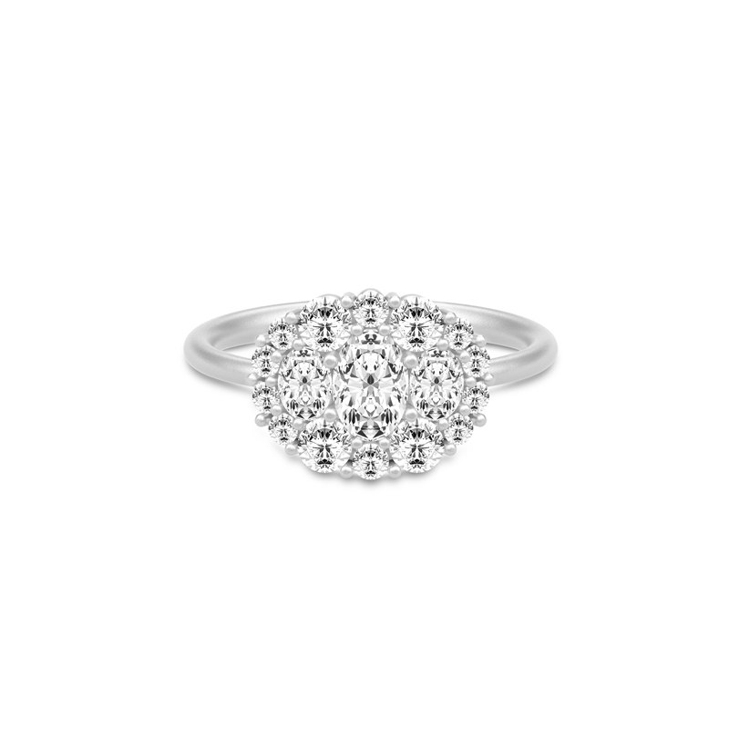 SANDLAU Glamour Ring 52
