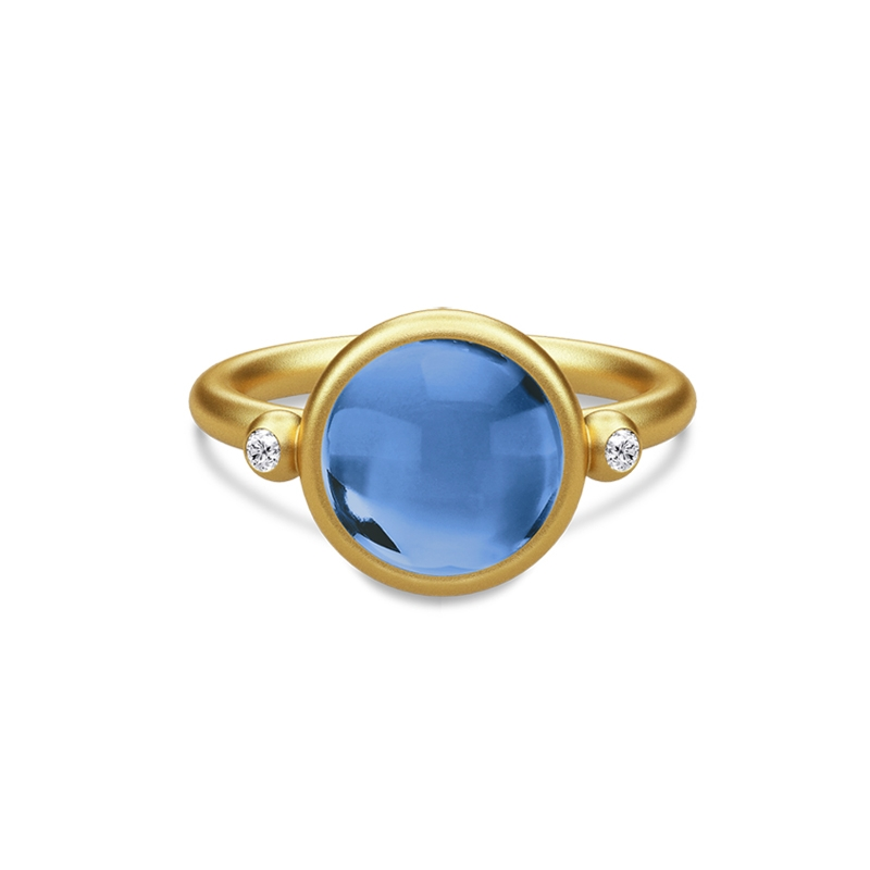 SANDLAU Prime Ring Royal Blue