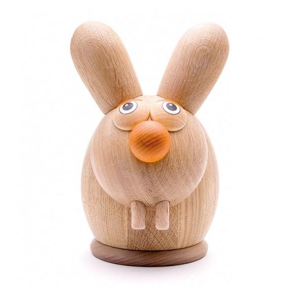 Image of   Sparebøsse Hare i træ