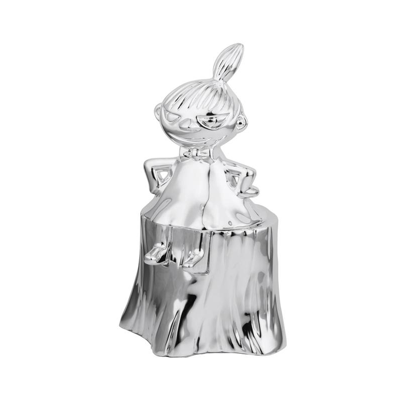 Image of   Sparebøsse Lille My, sølvplet