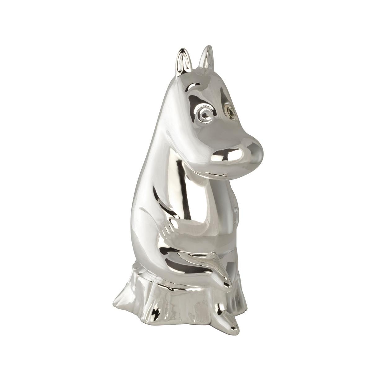Image of   Sparebøsse Mummitrold, sølvplet